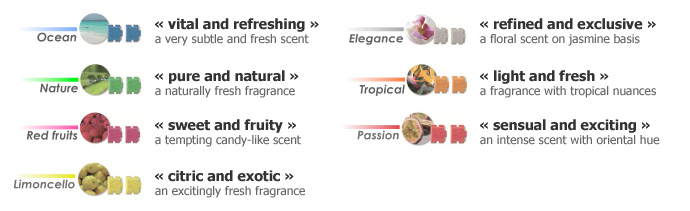 Ambicar fragrances information